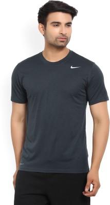 StreetMarket Solid Men Round Neck Blue, Dark Blue T-Shirt(Pack of 2)