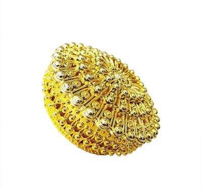 Prime Plastic Jewellery Box for Wedding Gifts, Bride Jewellery Vanity Box(Golden)