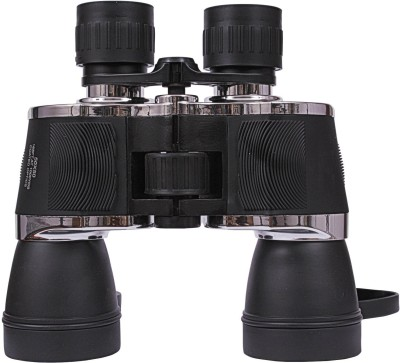 GOR Power View 10 x 50 Wide Angle HD Binoculars(50 mm, Black)