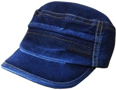 Saifpro Stylish Looks Blue Jeans Skull Cotton Cap Cap