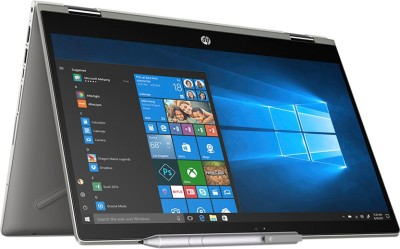 HP Pavilion x360 Core i3 8th Gen - (4 GB/1 TB HDD/8 GB SSD/Windows 10 Home/2 GB Graphics) 14-cd0050TX 2 in 1 Laptop(14 inch, Mineral Silver, 1.68 kg)