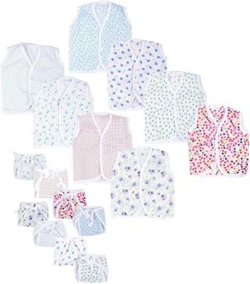 First Kids Step Boys & Girls Casual Vest Vest, Top, Dress(Multicolor)