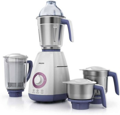 Philips New HL7701 750 W Juicer Mixer Grinder(White, 4 Jars)