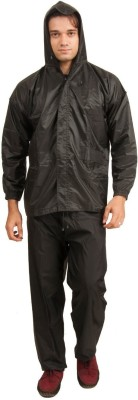 NTC Solid Men & Women Raincoat