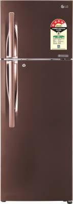 LG 284 L Frost Free Double Door 4 Star Refrigerator