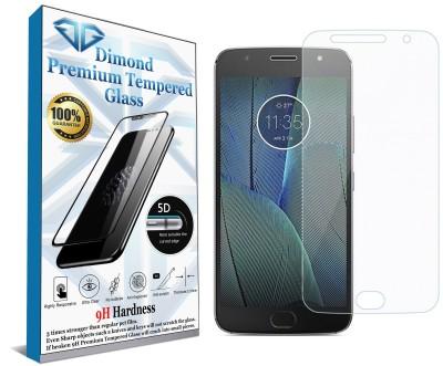 DG(DEVICE) Tempered Glass Guard for Motorola Moto G5s Plus