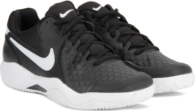 Nike Air Zoom Resistance Tennis Shoes For Men(Black)