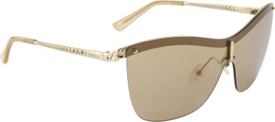 Guess Over-sized Sunglasses(Golden)