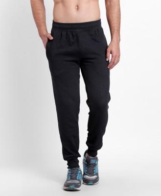 Spunk by fbb Regular Fit Men Black Trousers at flipkart