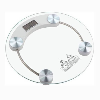 MEZIRE ®New Electronic Digital LCD Body health Check Up Fitness Weighing Scale Weighing Scale(Clear) Weighing Scale(Transparent)