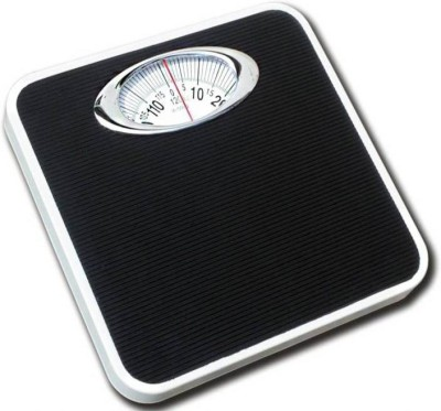 ZEOM Iron Analog/Manual Virgo Weighing Scale(Black) Weighing Scale(Black)
