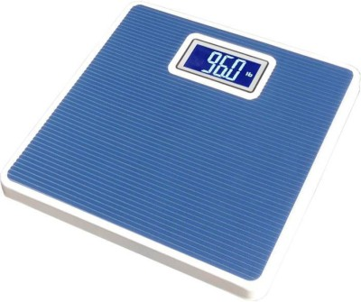 Zeom Digital Iron Body Weighing Scale(Blue) Weighing Scale(Blue)