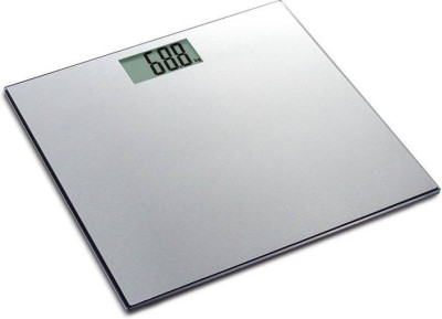 Mezire Stainless Steel Digital Body Weight Bathroom Weighing Scale(Silver) Weighing Scale(Silver)
