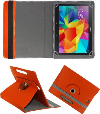 "Fastway Flip Cover for Samsung Galaxy Tab 4 10.1"" SM-T530(Orange, Cases with Holder)"