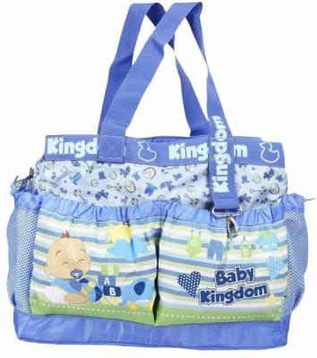 Wishkey Stylish Mutli Storage Diaper Bag(Blue)