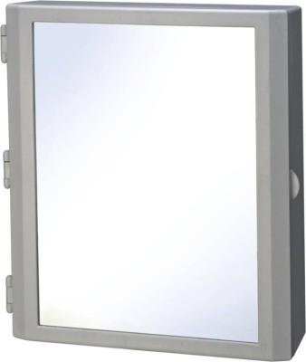 Cipla Plast Flora BRC 740 Plastic Wall Shelf(Number of Shelves - 2, White)