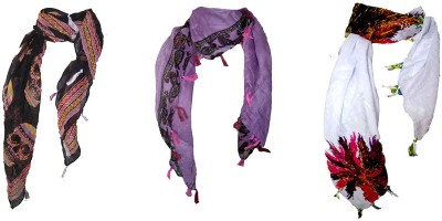 window shop Printed cotton Girl's Scarf