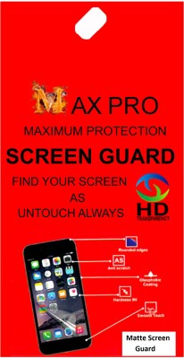 Maxpro Screen Guard for Matte Screen Guard Motorola Moto G6(Pack of 1)
