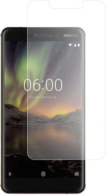 Case Creation Tempered Glass Guard for Nokia 6.1(Pack of 1)
