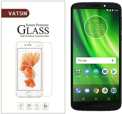 Vatsin Tempered Glass Guard for Motorola Moto G6 Play(Pack of 1)