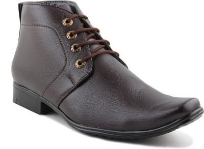 RockSoft Club Shoes Derby For Men(Brown)