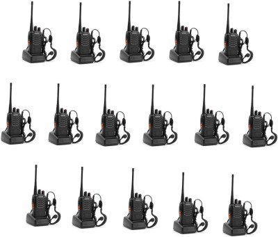 BaoFeng (16 Pcs) BF-888S Walkie Talkie(Black) at flipkart