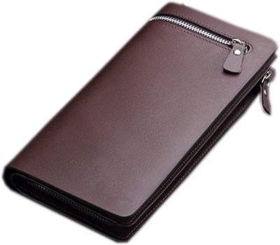 Satyam Kraft Women Brown Artificial Leather Wallet(14 Card Slots)