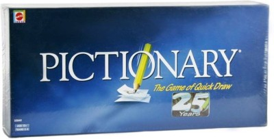 Civil Mattel Games Pictionary-The Game of Quick draw Board Game Board Game