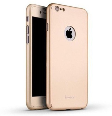 NTV Front & Back Case for APPLE PHONE, Apple iPhone 6 Plus(Gold, Grip Case)