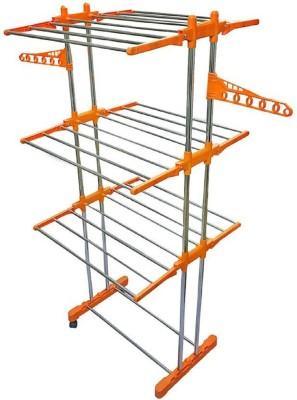 HOMEMATE Steel Floor Cloth Dryer Stand CDSSS-001(3 Tier)