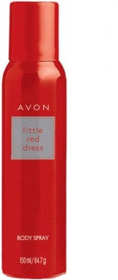 Avon Little Red Dress Body Spray For Women, 150 ML
