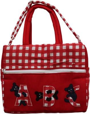 Kidzvilla Mother Diaper Bag Diaper Bag(Red)