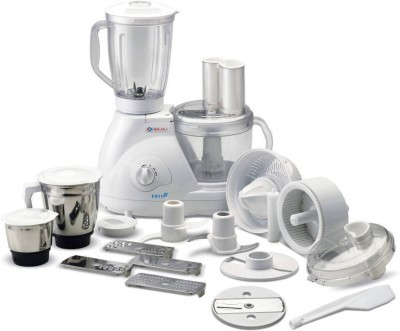 Bajaj FX 11 Food Factory 600 W Food Processor(White)