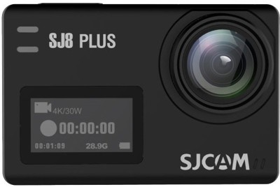 SJCAM SJ8 Plus Native 4K dual screen Wifi Sports Action Camera 2 inch IPS Retina Screen Instant Camera(Black)