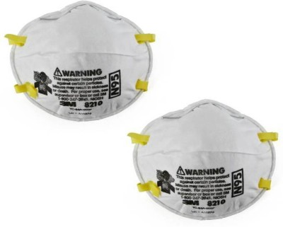 Niosh And 3m Respirator Mask Approved N95 Mask 8210 2 Of pack Particulate