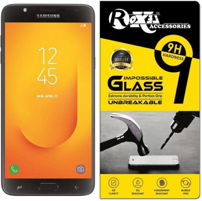 Roxel Impossible Screen Guard for Samsung Galaxy J7 Duo (Black, 32 GB) (4 GB RAM)(Pack of 1)