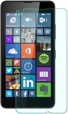 REZAWZ Tempered Glass Guard for Microsoft Lumia 640(Pack of 1)