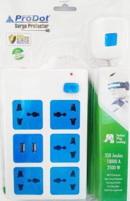 ProDot PSP-581U-1.5 5 Socket Surge Protector(Multicolor)