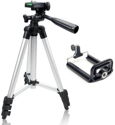 PH Artistic Tripod TF-3110 Portable Tripod Stand For Camera and phone Tripod Kit(Black, Supports Up to 1500 g) 1