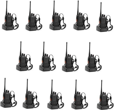 BaoFeng (14 Pcs) -888S Walkie Talkie(Black) at flipkart