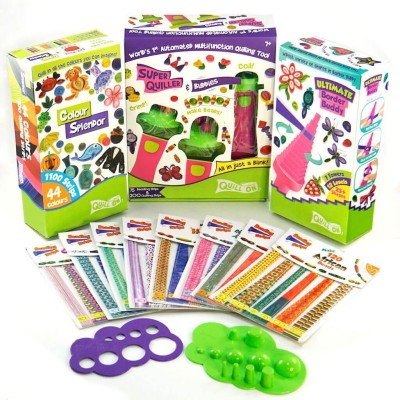 Quilled Creations Husking Hoops and Loops Quilling Kit