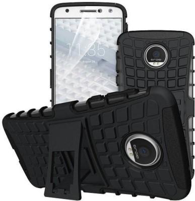 Slm Accessories Back Cover for Motorola Moto E4 Plus Black