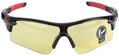 UV400 HD Night Vision Cycling Riding Driving Glasses Sports Sunglasses Goggles