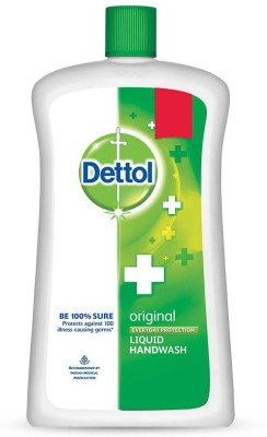 Dettol Original Liquid Hand Wash Refill(900 ml)