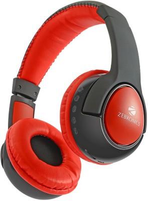 Zebronics TARANG Bluetooth Headphone(Black, Over the Ear) 1