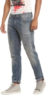 Jack & Jones Slim Men Grey Jeans at flipkart