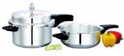 Vijayalakshmi combo 7.5+jumbo pressure pan 7.5 Pressure Cooker & Pressure Pan(Aluminium)