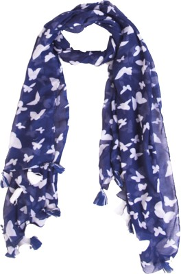 Ziva Fashion Printed COTTON Women's Scarf
