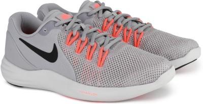Nike NIKE LUNAR APPARENT Running Shoes For Men(Grey) 1