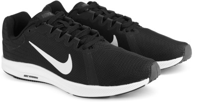 Nike DOWNSHIFTER 8 SS 19 Walking Shoes For Men(Black, White) 1